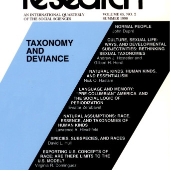 TAXONOMY AND DEVIANCE / Vol. 65, No. 2 (Summer 1998)