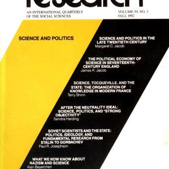 SCIENCE AND POLITICS  / Vol. 59, No. 3 (Fall 1992)