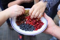פירות יבשים באפיטייזר