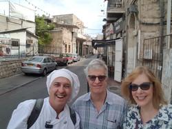 סיור פרטי לאורחי המחלקה ליחסים בין לאומיים באוניברסיטת חיפה