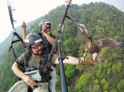 Parahawking in Nepal