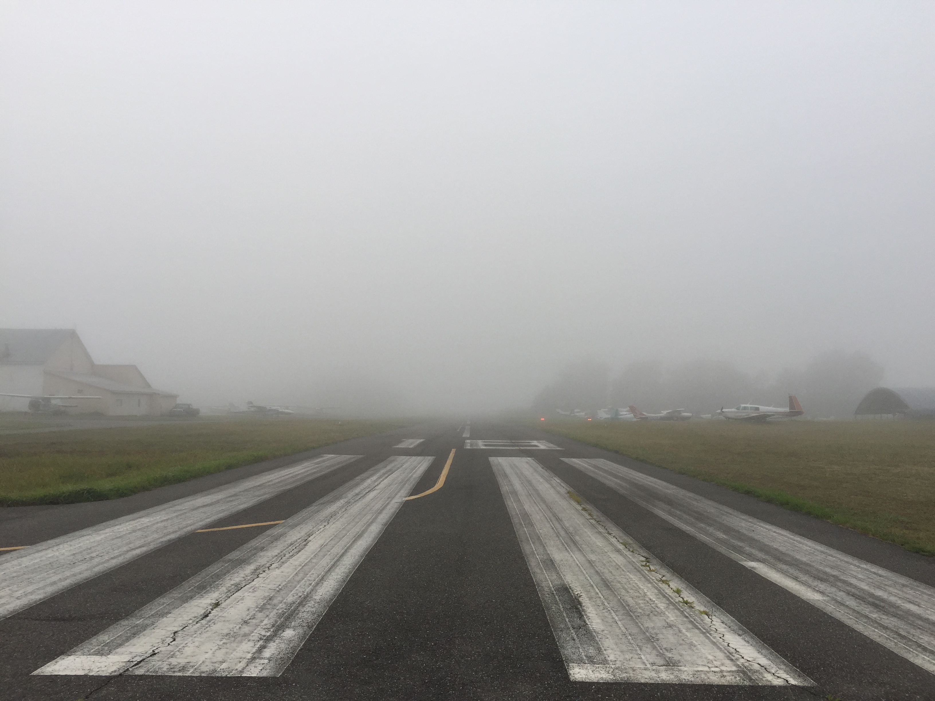 Runway 18 at Freeway