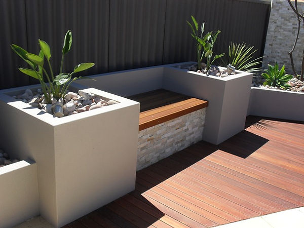 Garden Bench Perth Ladscapers