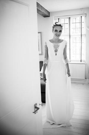 Bride and Bridesmaids stairs of Savile Club