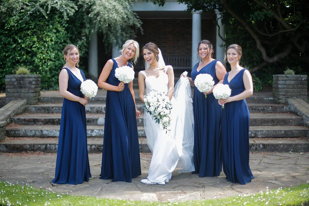 Bride and Bridesmaids Cannizaro House