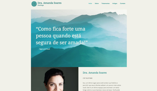 Ver todos os templates website templates – Psicóloga