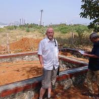Jan bij een bouwproject van Rucode