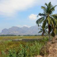 Het prachtige landschap bij Vellamadam