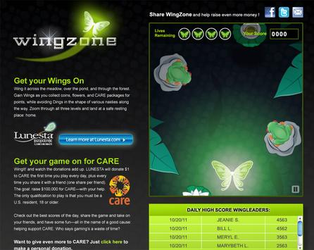 Lunesta Online Game & Care Fundraiser