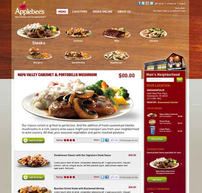 Site Design Interactions
