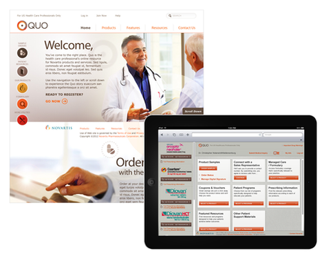 Novartis QUO Branding and Product Launch