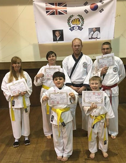 Skelmersdale Soo Bahk Do  first group grading of 2018