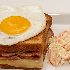 Croque Madame Toast