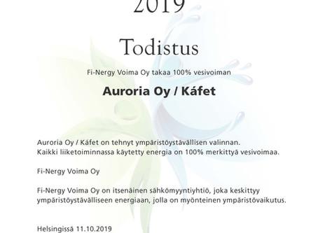 100% Green Energy - Vihreä Energiaa