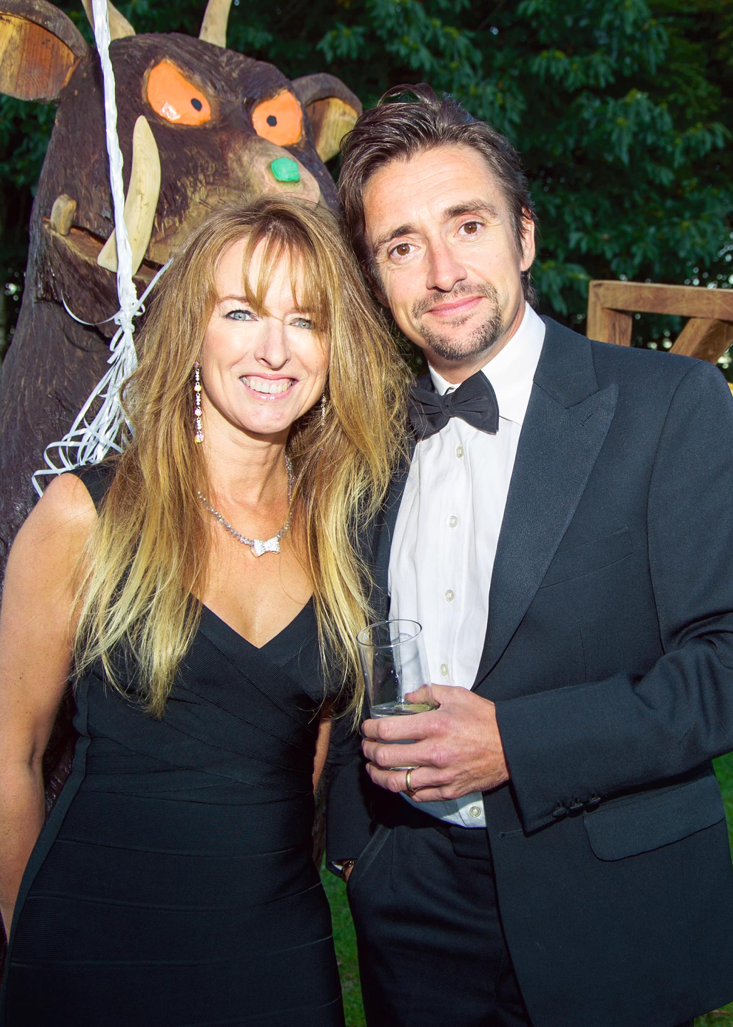 Richard Hammond and Mindy