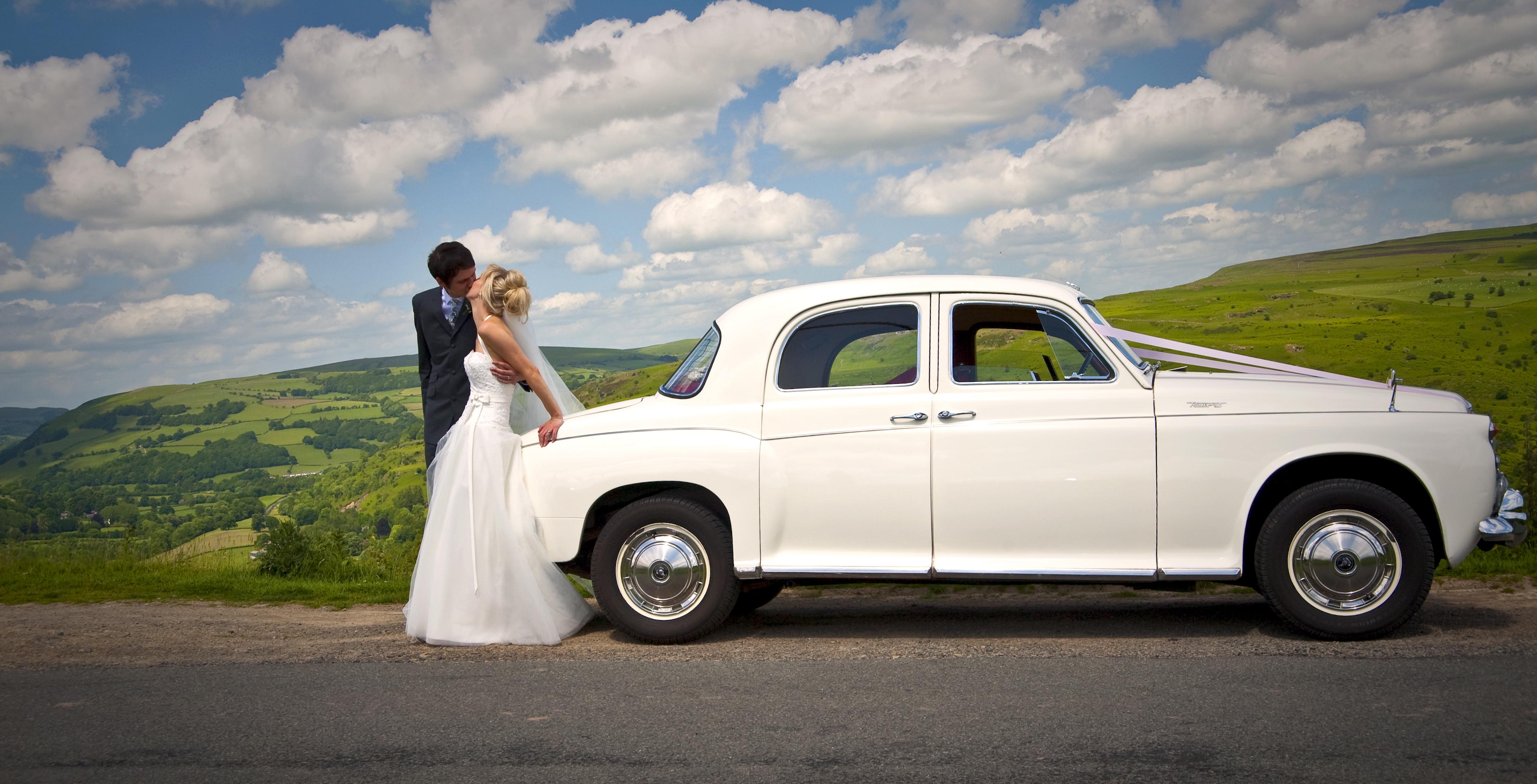 Wedding The kiss