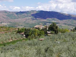 Working in Toscane