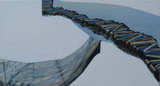 Intricate forms IV 112 x 61 cm