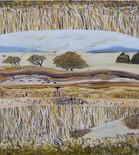 Tea Trees 100 x 124 cm.