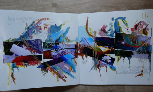 Book of collages