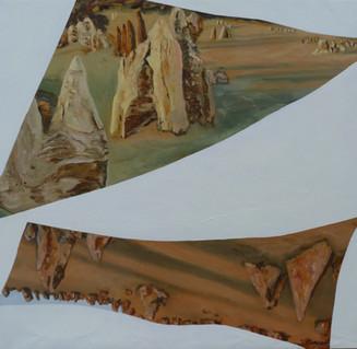 Intricate forms III  86 x 84cm