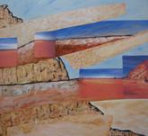 Rainbow Valley 112 x 122 cm