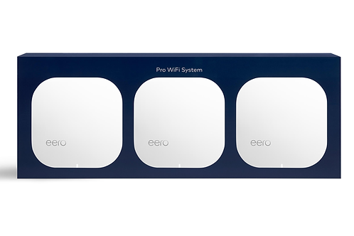 eero pro smart wifi - three pack