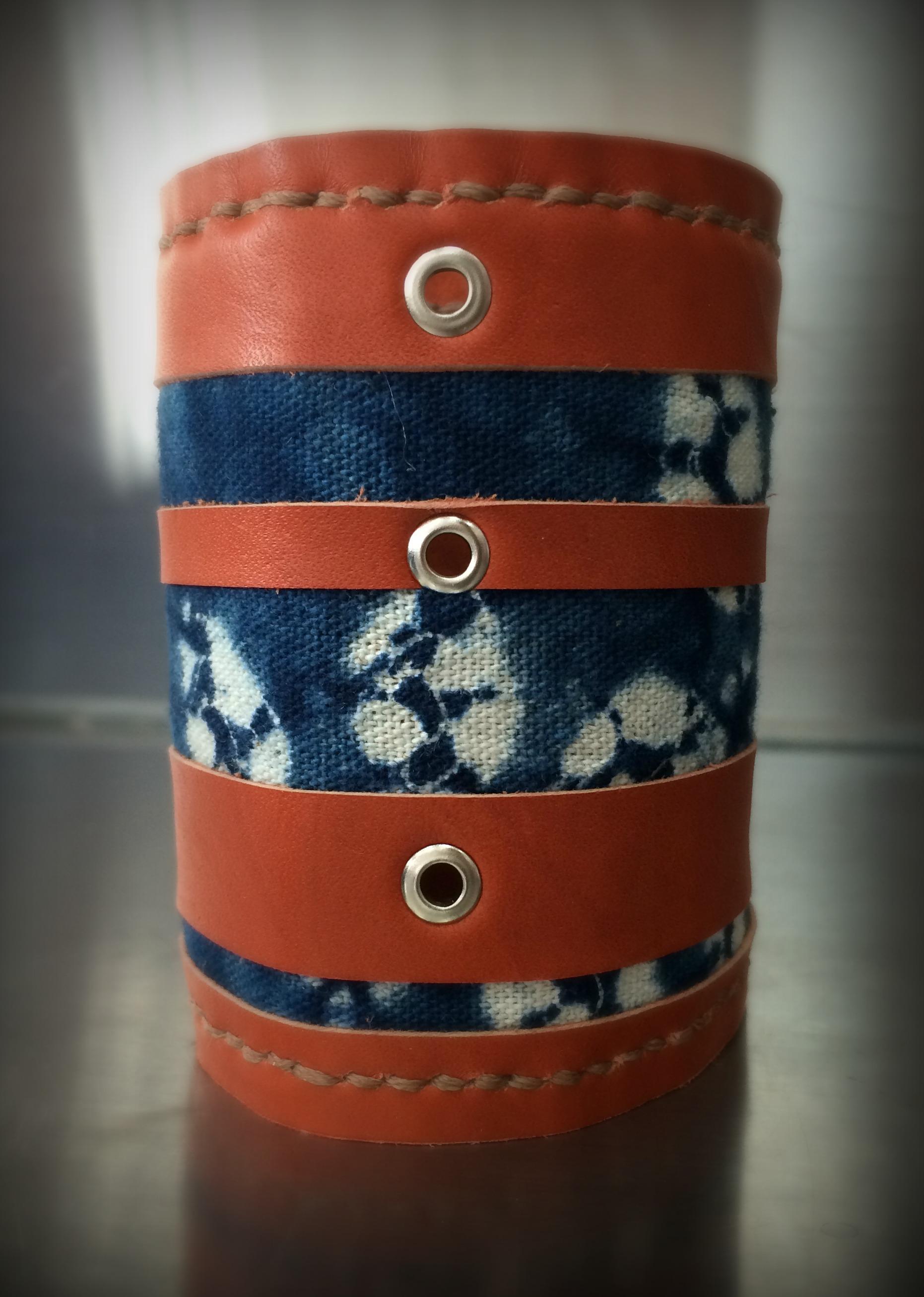 Bold Shibori Stripes