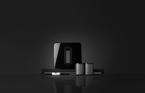 Sonos Home Theater - Play:1 rears