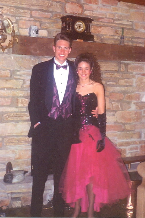 Mark and Ann Hefte - Prom 1993