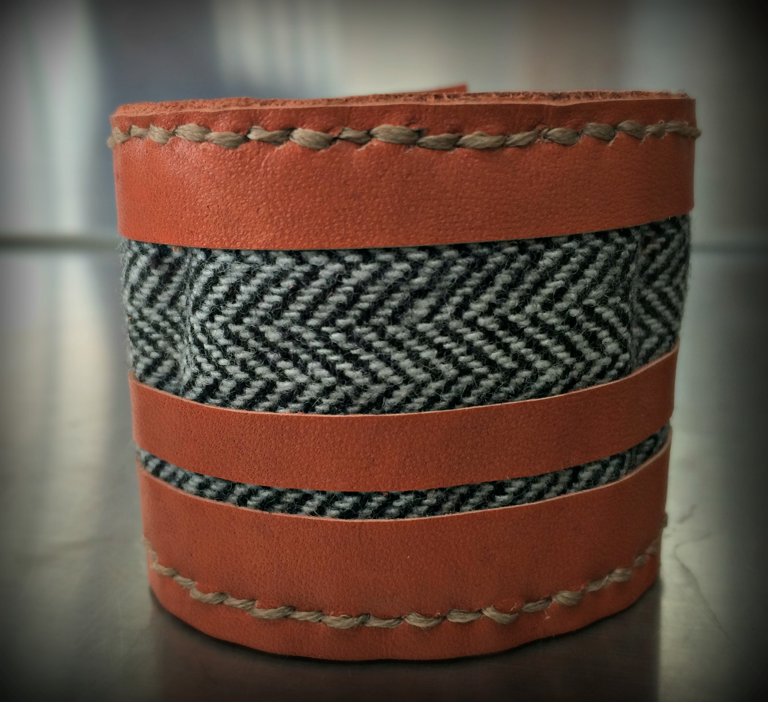 Herringbone stripes