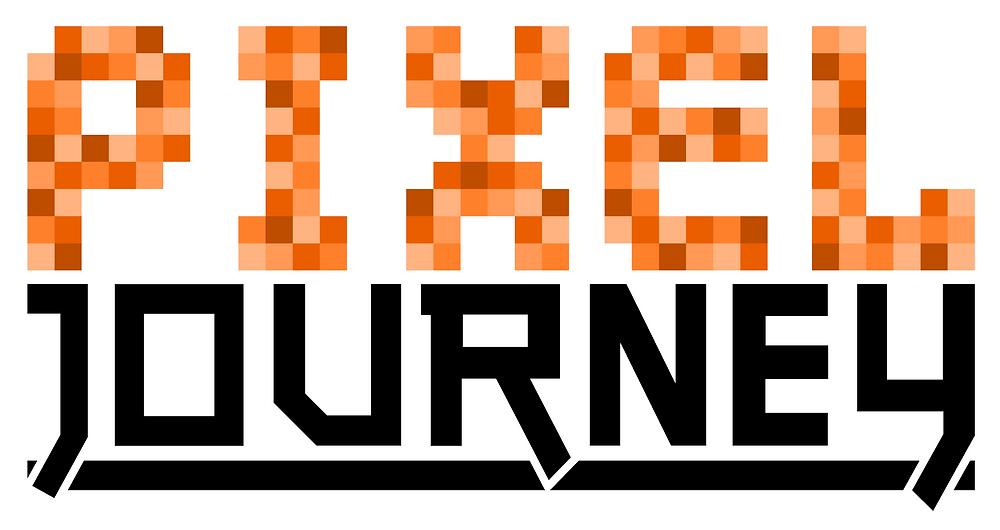 logo, design, pixel, journey, font
