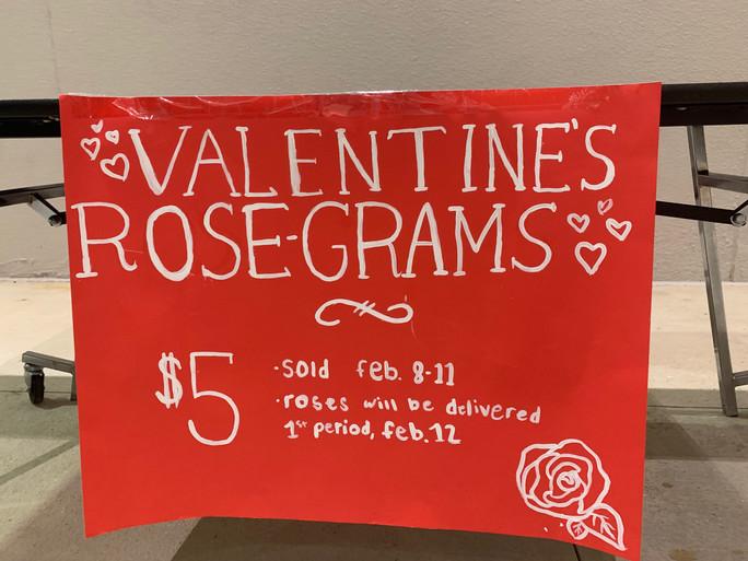 Valentines brightened campus on Feb. 12