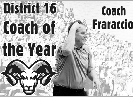 Coach Fro named 'Coach of the Year'