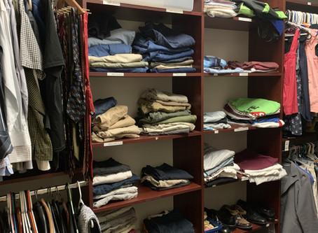 Clothing Closet: school's best resource