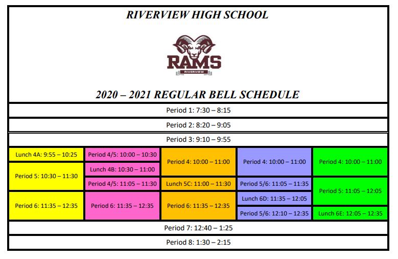 HQ schedule
