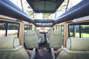 Safari vehicle Tanzania