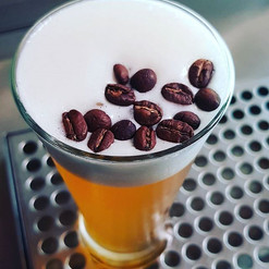 Feeling a bit dusty after a big Friday night_ _We have the remedy - Cold brew coffee infused pale ale, served on Nitro! _Limited quantities_