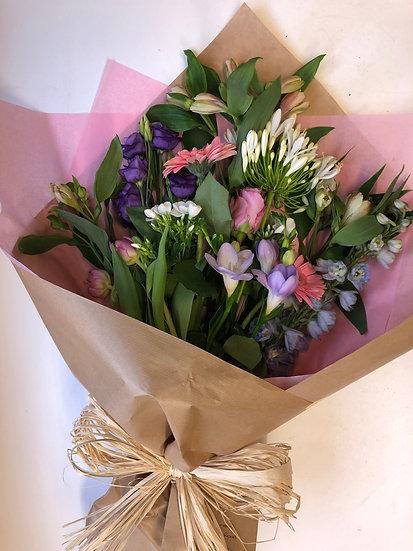 Natural Wrap Bouquet