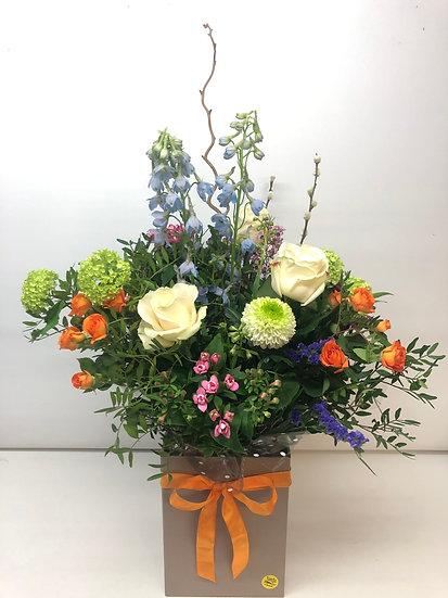 Luxury Aqua Bouquet