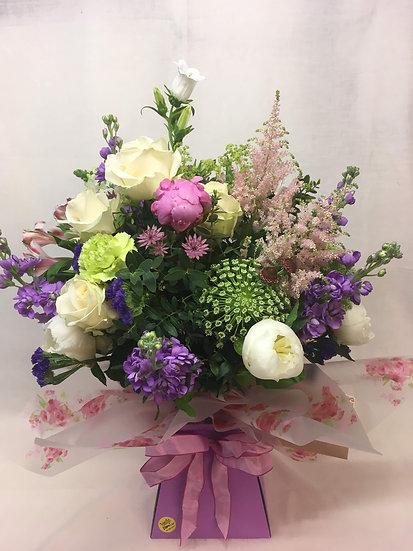 Seasonal Aqua Bouquet