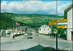 Norge Fagernes Valdres 1965