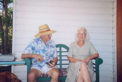 Mary and Don, second honeymoon, USA