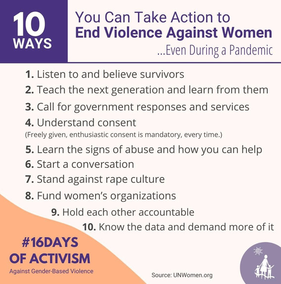 Take Action to End VAW