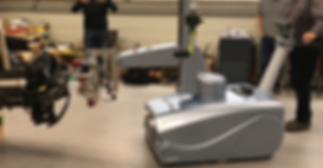 ergomove, cobot, Aubo i5, MRK Roboter, Kollaborativer Roboter, Universal Robot, Mobiler Manipulator, Ergonomie, Roboter, Automatisierung, Handling, Bestückung, Be- und entladen, cnc, automobil
