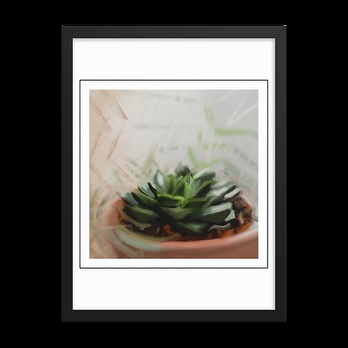 Impression of a succulent
