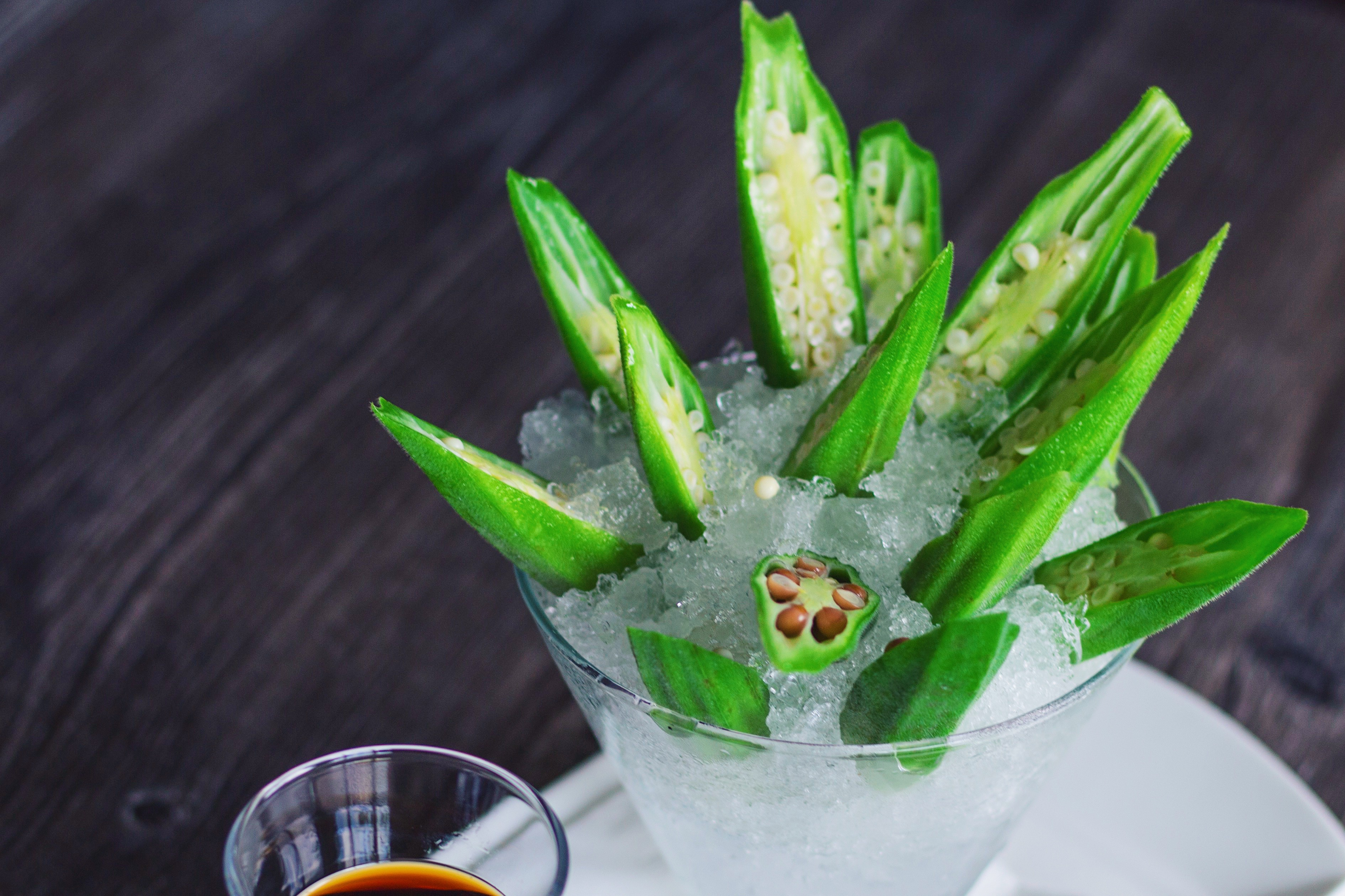 Freezing Okra