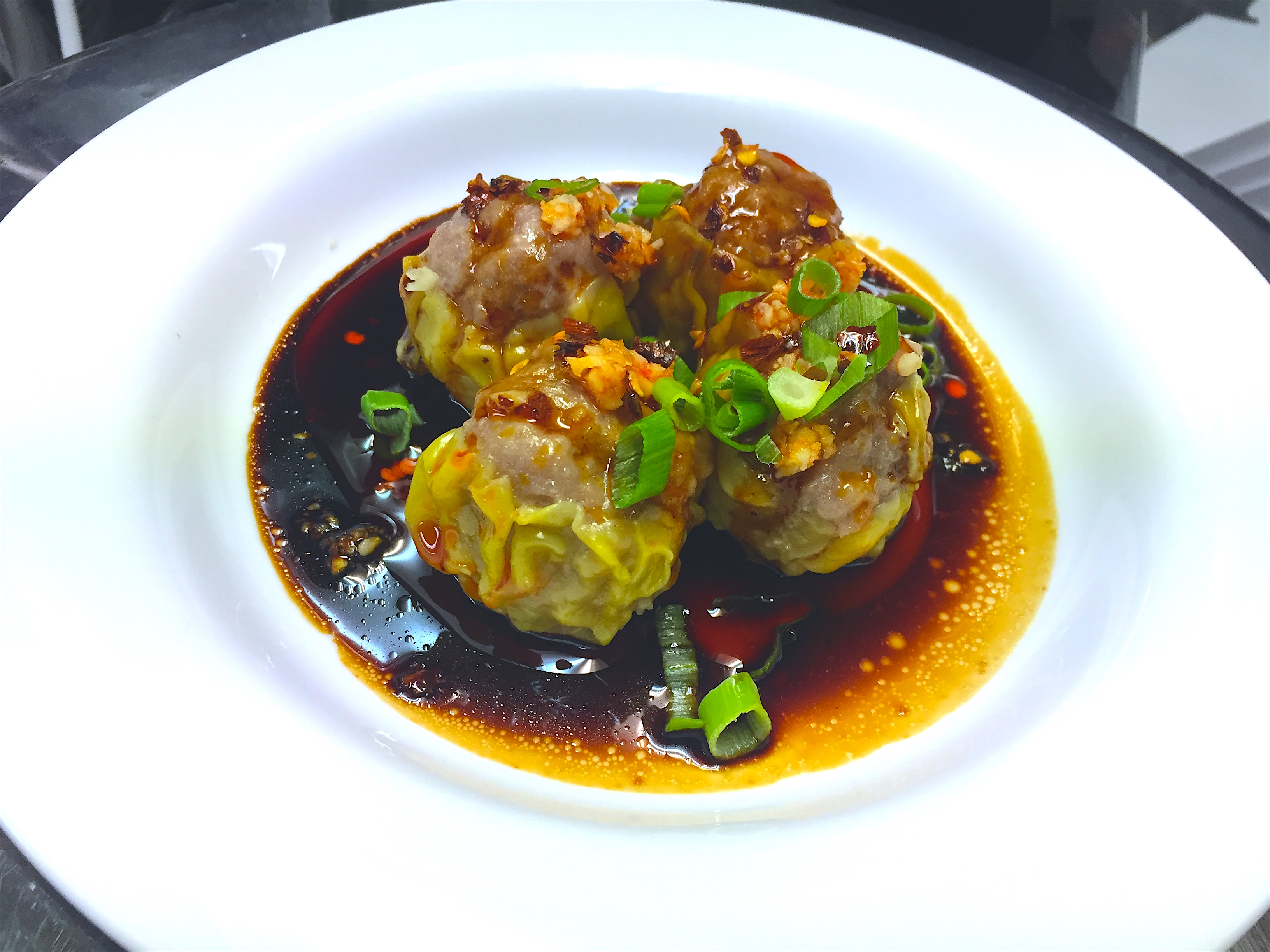 Sweet and Spicy Beef Shumai