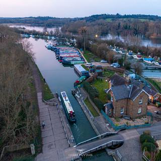 Stanstead Lock, River Lea