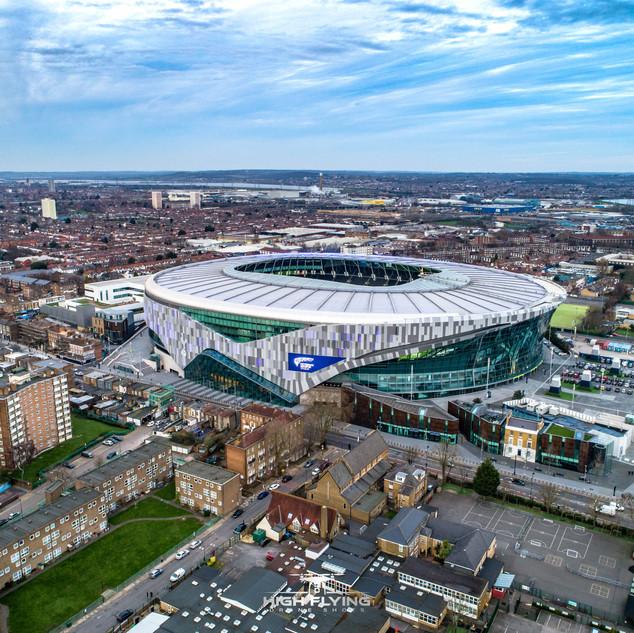 White Hart Lane By Drone
